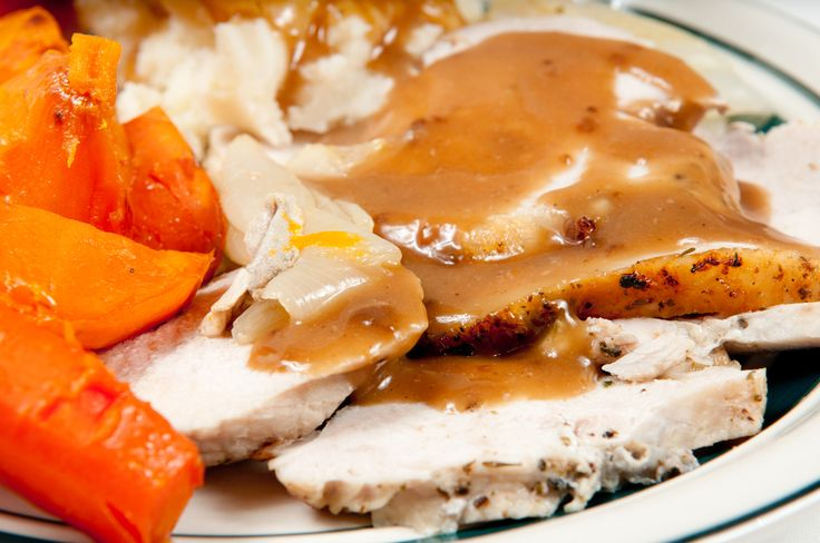 With this recipe, nobody EVER believes that it is WILD TURKEY!  It is so tender, tasty & melts in your mouth.  And if you don't turkey hunt, not a problem, this recipe can be used with store bought turkey breast also. There will be a nice gravy from cooking to enjoy over mashed potatoes...