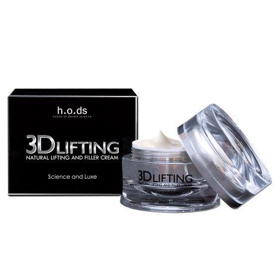 H.o.ds 3D Lifting Natural Lifting And Filler Cream fra BliVakker. Om denne nettbutikken: http://nettbutikknytt.no/blivakker-no/