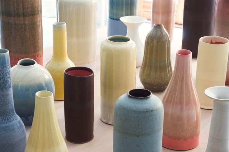 Unika danish handmade ceramics from Tortus Copenhagen.