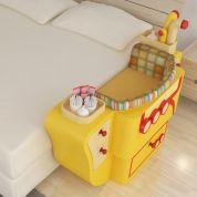 Mini-berços temáticos (lindos) para acoplar à cama de casal