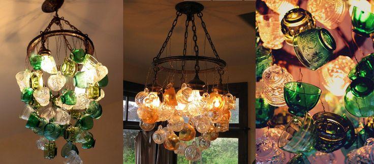 Светильники для кухни в стиле бохо шик. Самые необычные бохо идеи для вашей лампы! Светильники из ложек, Светильники из терки, Светильники из банок,ФОТО