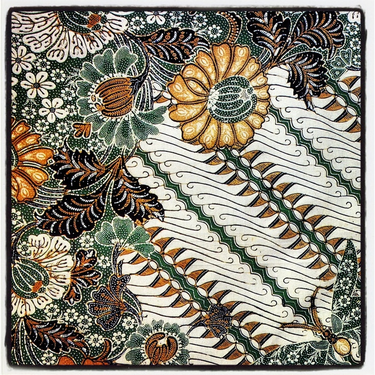 Batik from Yogyakarta, Indonesia