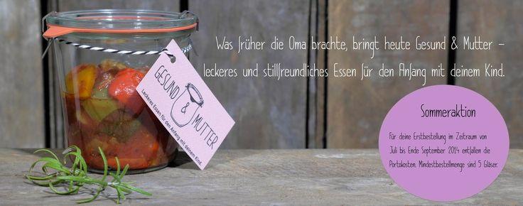 Lieferdienst für stillfreundliches Essen in Hamburg - GESUND & MUTTER