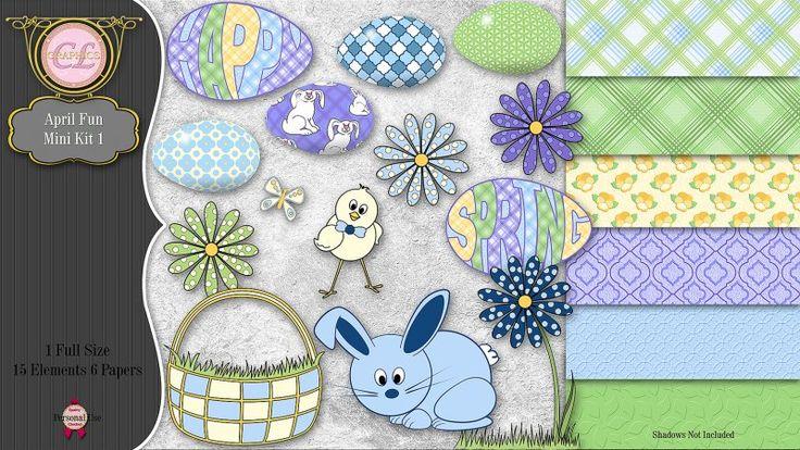 CLGraphics April Fun Mini Kit 1