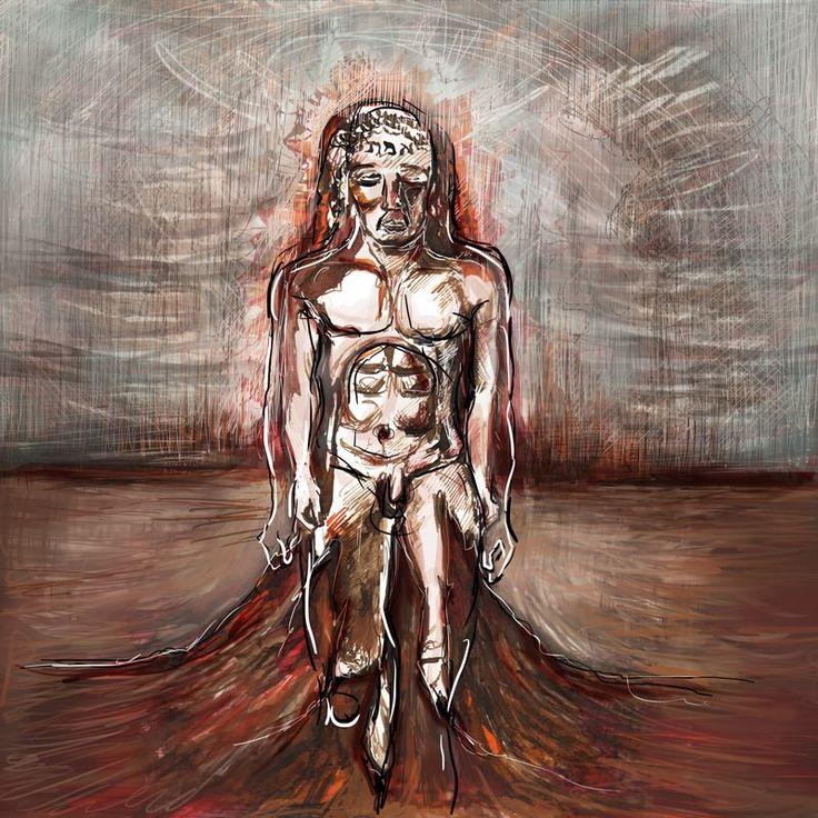 Valentina Zampedri - Golem illustration - Massoneria Creativa - www.massoneriacreativa.com