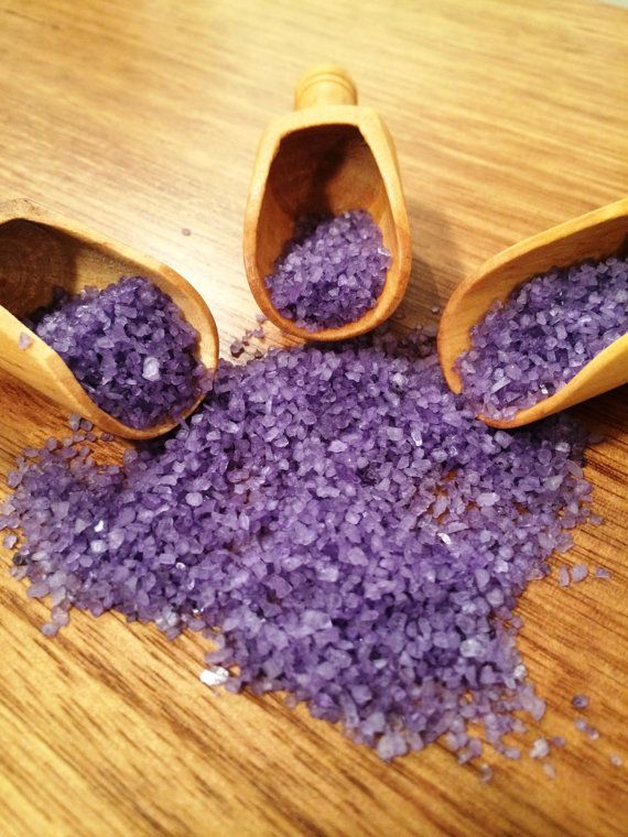 Lavender Aromatherapy Bath Salts by TheNaturalProductsCo on Etsy