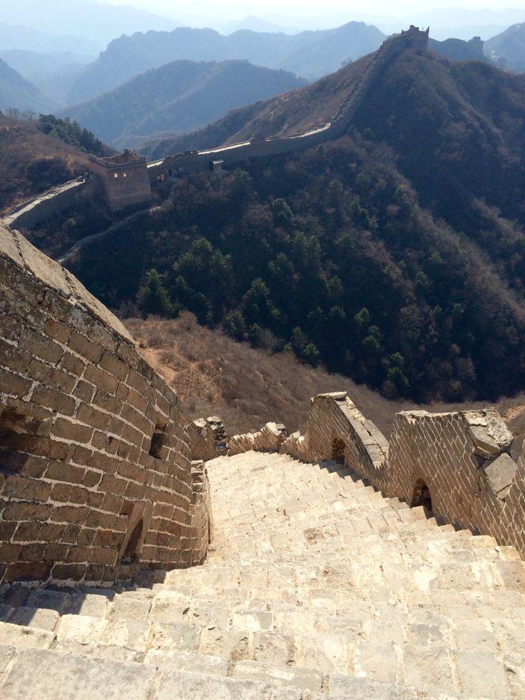 Great wall at Jinshanling, China