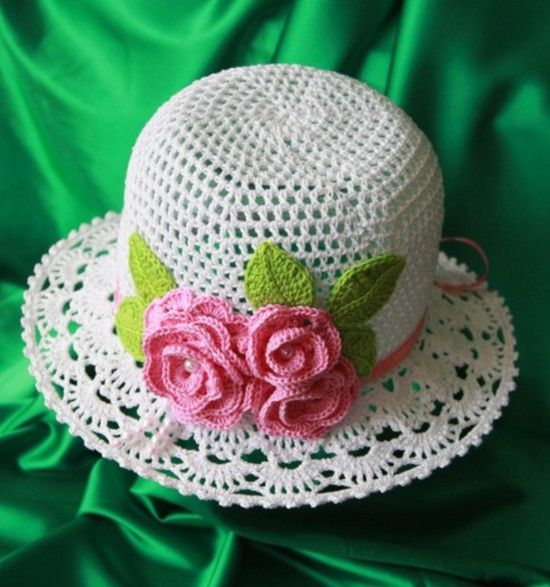 Crochet Cloche Hat - Crochet Panama Hat - our post is filled with lots of free patterns