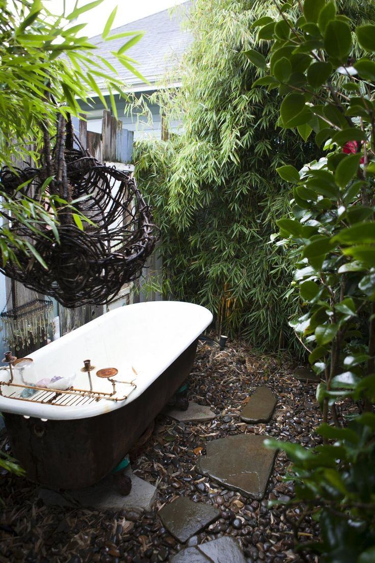 20 best Garden bath images on Pinterest | Bathtubs, Soaking tubs and ...