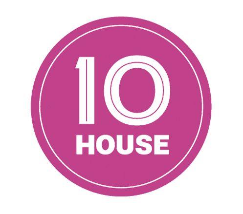 Logo e identidad para TenHouse