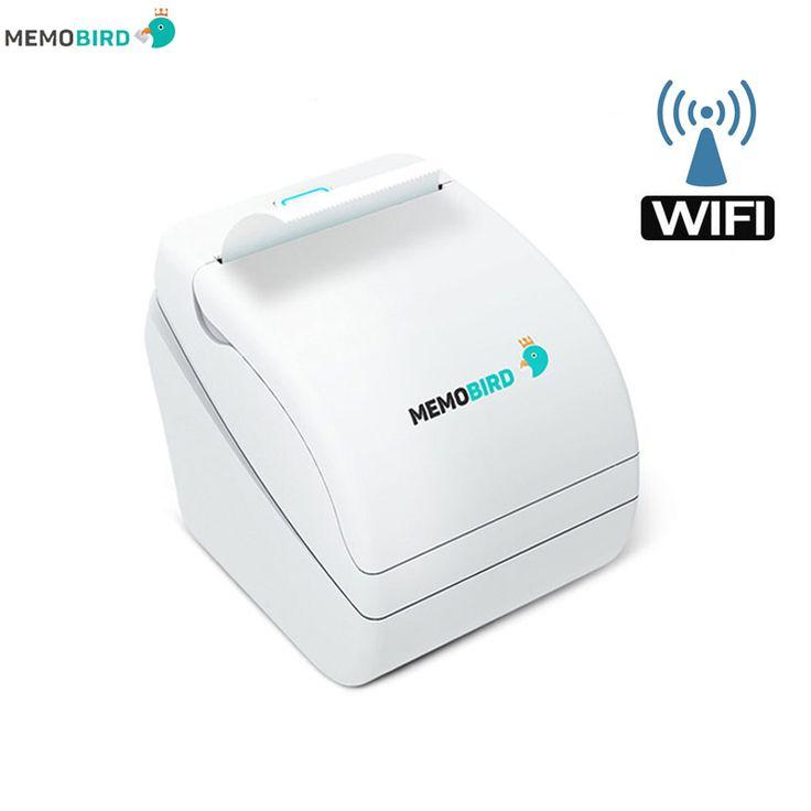 Drucker Memobird G1 New Thermodrucker barcodedrucker WiFi Drahtlose Fernbedienung Telefon Foto Drucker jede sprache