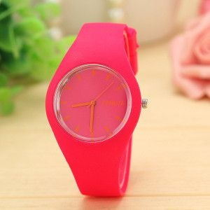 Brand New Candy-Colored Jelly Geneva Watches (Free Shipping)