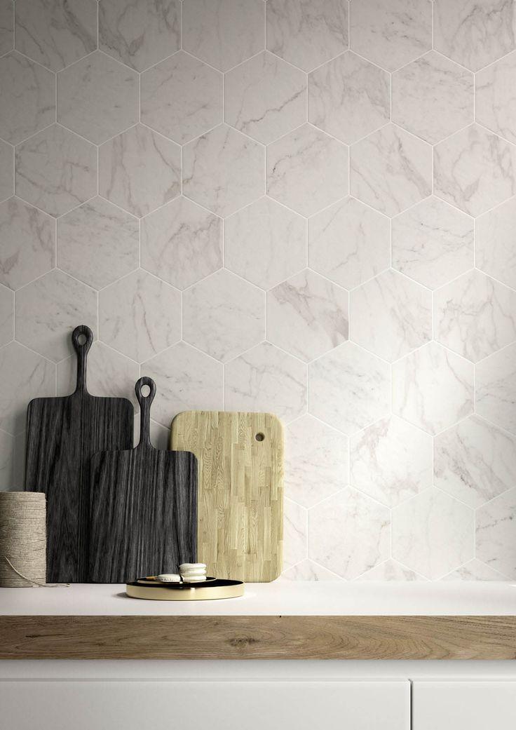 Carrelage cuisine: des idées et des solutions en céramique et en grès - Marazzi…