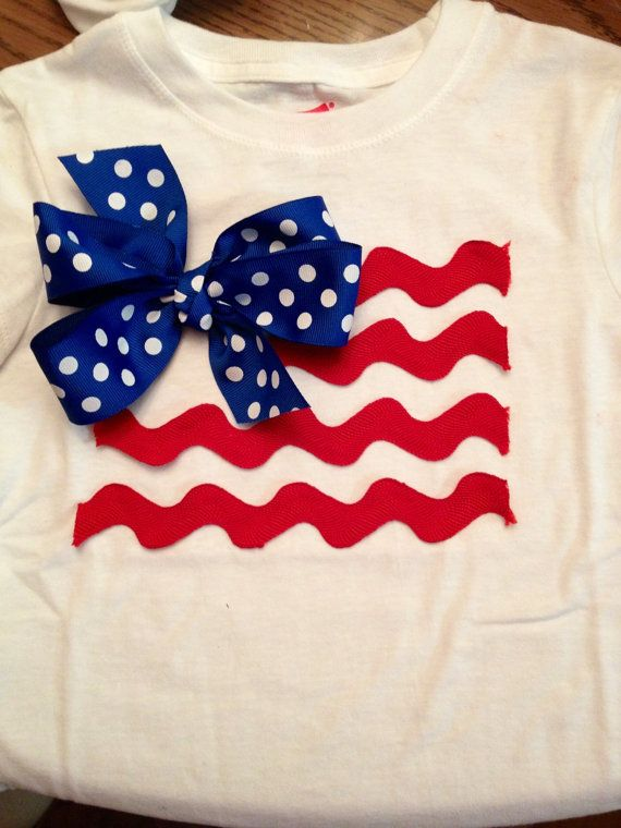 red fourth of july shirt