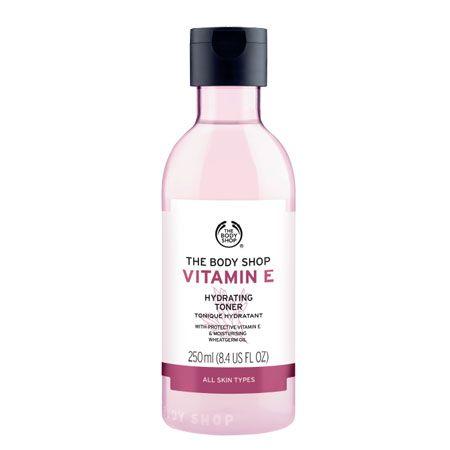The Body Shop, vitamin E kollektionen.