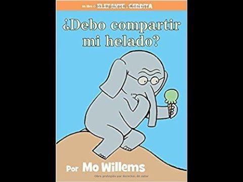 Enjoy this over-the-top Elephant and Piggie adventure in Spanish!  Should I Share my Ice Cream? has enchanted young readers for years.  Written and illustrated by award-winning artist Mo Willems, the Elephant and Piggie series is the paragon of early readers for young children.