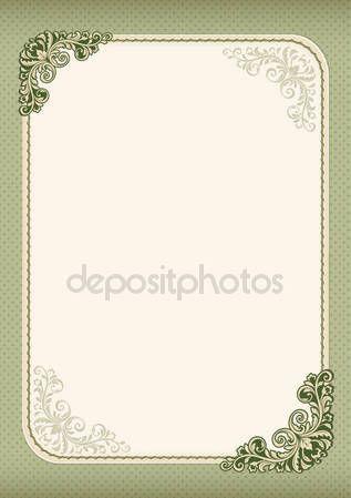 Letöltés - Díszes oklevél, bizonyítvány, a reklám sablon. Retro vintage stílusú. Virágzik, pöttyös háttér. A4-es oldal — Stock Illusztráció #129084768