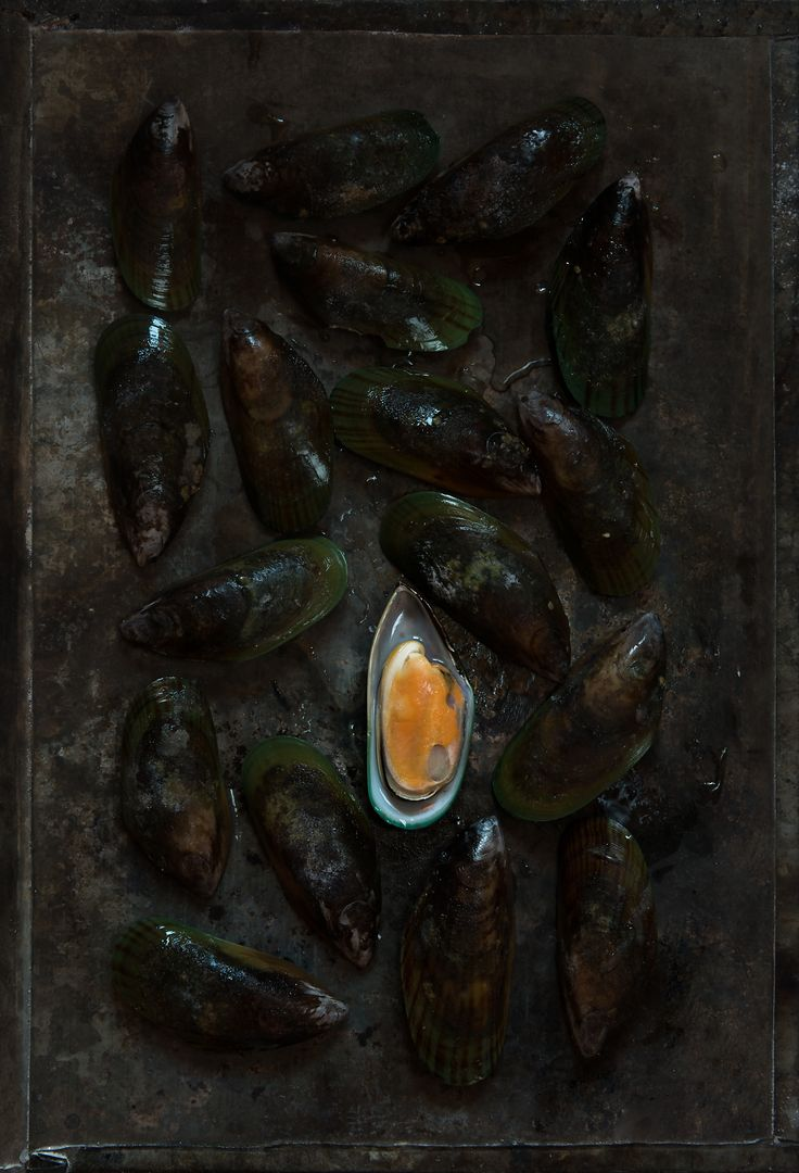 #mussels #dark #food #photography