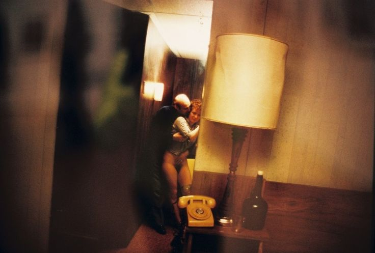 Nan Goldin Sex | Nan and Dickie in the York Motel, New Jersey, 1980