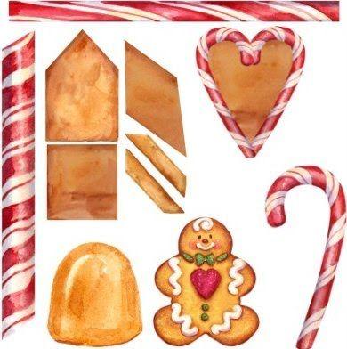 christmas gingerbread  u2022 clip art gingerbread clipart clipart of house windows clipart of house windows