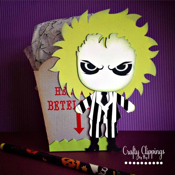 beetlejuice treat box  i used cutting file from the svg
