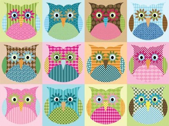 ♥: Alexander Owl, Originals Fabrics, Cushions Patterns, Fabrics Alexander, Things Owl, Cute Patterns, Owl Theme, Owl Obsession, Cute Owl
