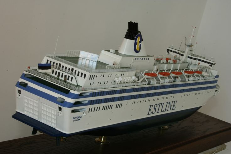 """MS """"ESTONIA""""  S 1:200. http://temnikoffv.wix.com/museum-of-baltic-sea#!estonia/c229w"""