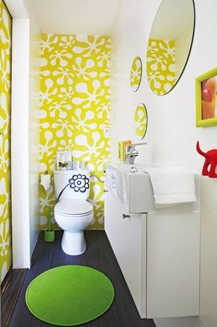 Contemporary Kids Bathroom With Ikea Bastis Hook