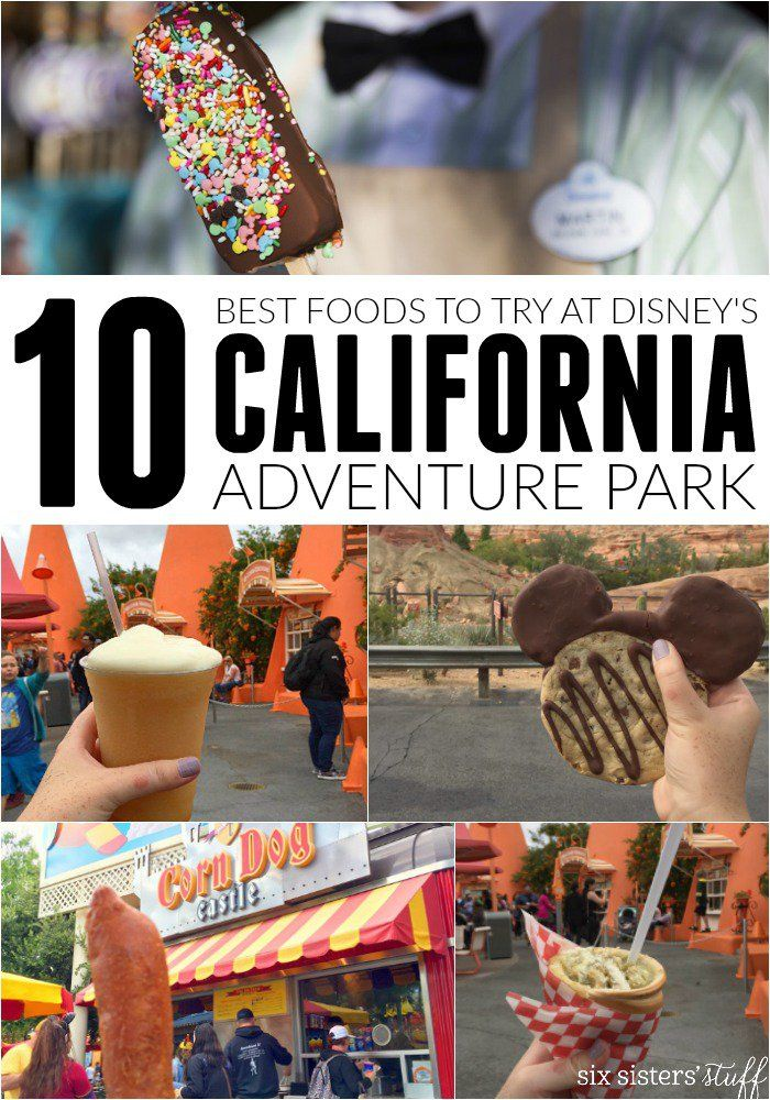 Best Foods to Try at California Adventure