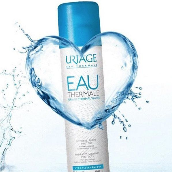 Double tap if you love #Uriage Thermal Water! ❤RG @uriagereunion #uriageaustralia #french #skincare #hydration #waterforskin #instacare