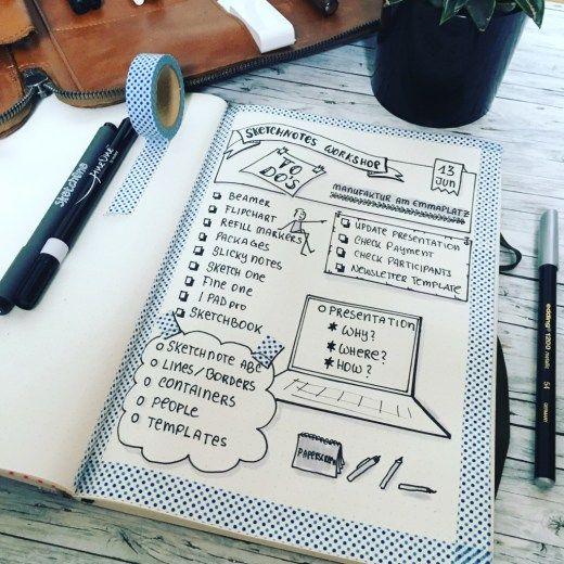 Kreativ organisiert mit dem Bullet Journal