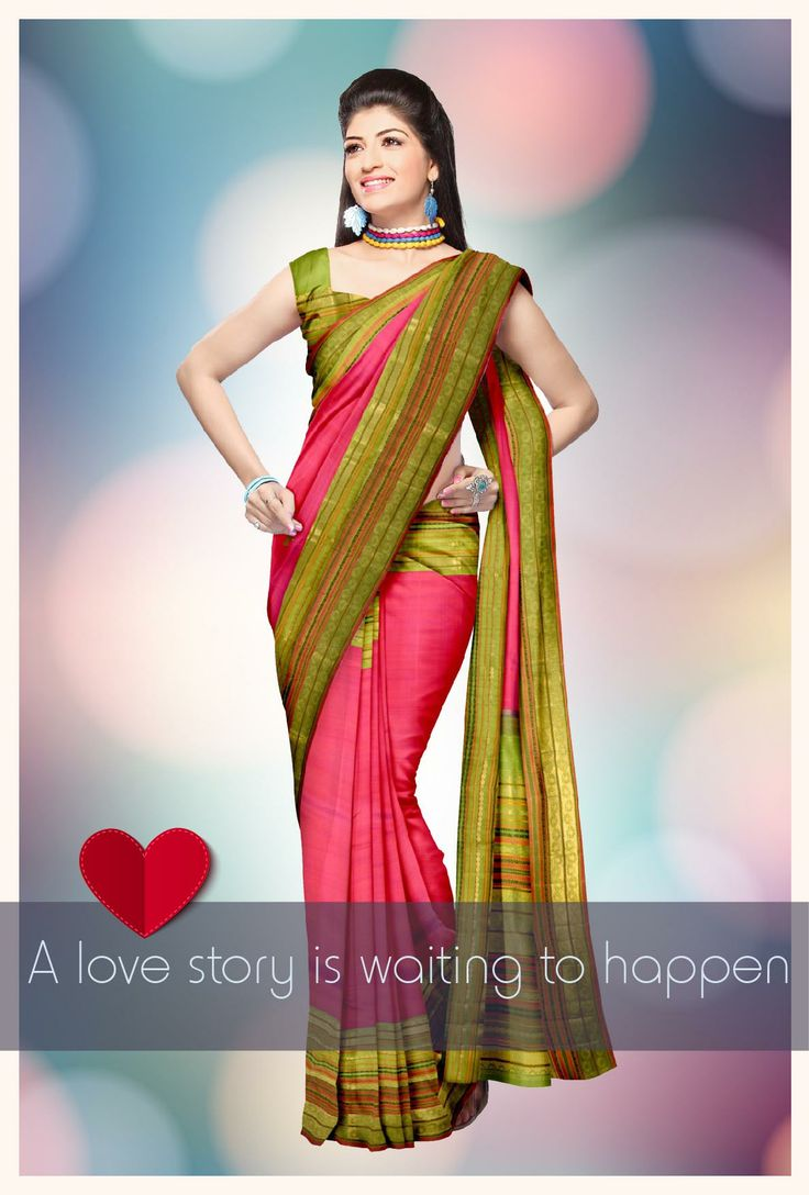 Exclusive design of the #Kanjeevaram Saree is sought because of the intricate designs and material of the #saree. This #Samyakk #Bridal saree, give the bride, the glory that she is supposed to be invested on her #wedding day.    www.samyakk.com