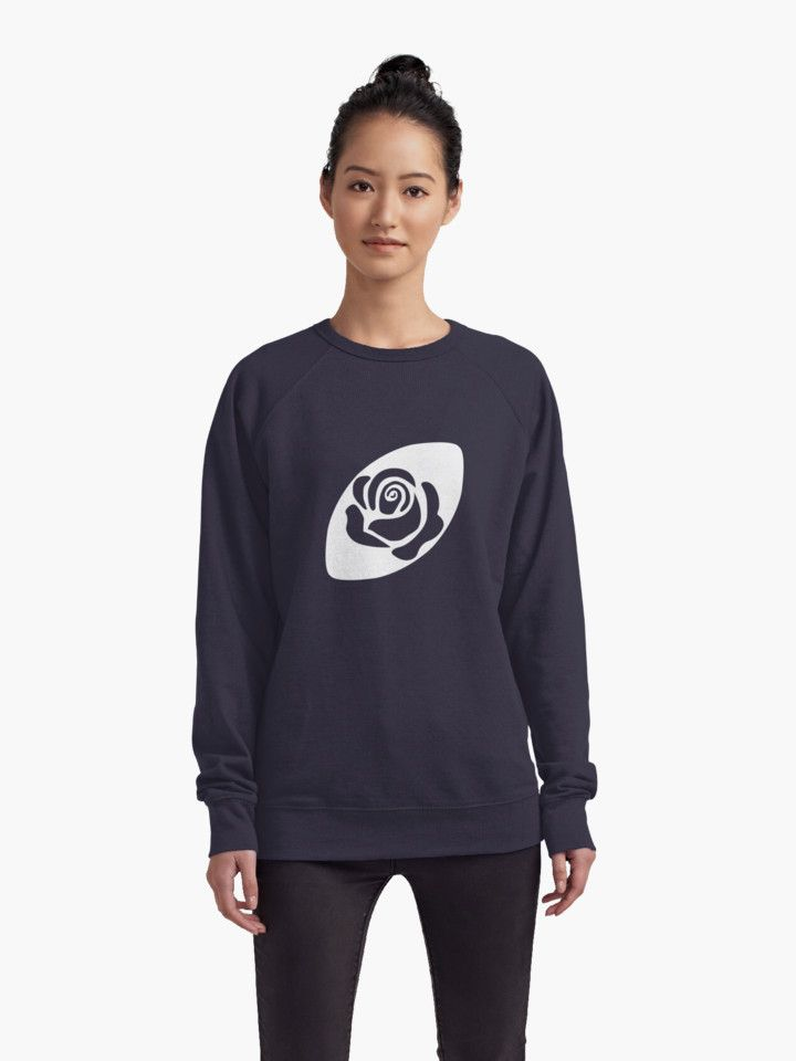 Rugby England Sweatshirt by Fimbis  #WRWC2017 #WRWC #rugby #rose #redroses #english #graphicdesign #graphictee #flowers