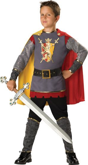 Loyal Medieval Knight Kids Costume                                                                                                                                                                                 More
