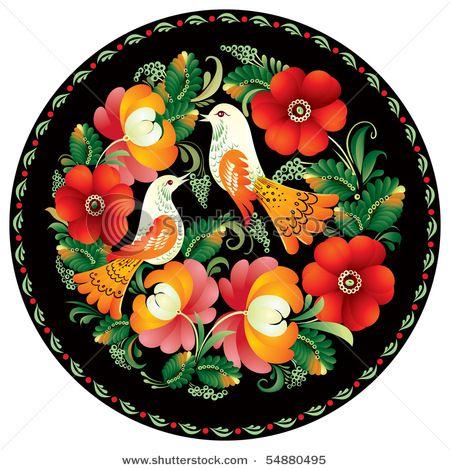 Russian Folk Painting