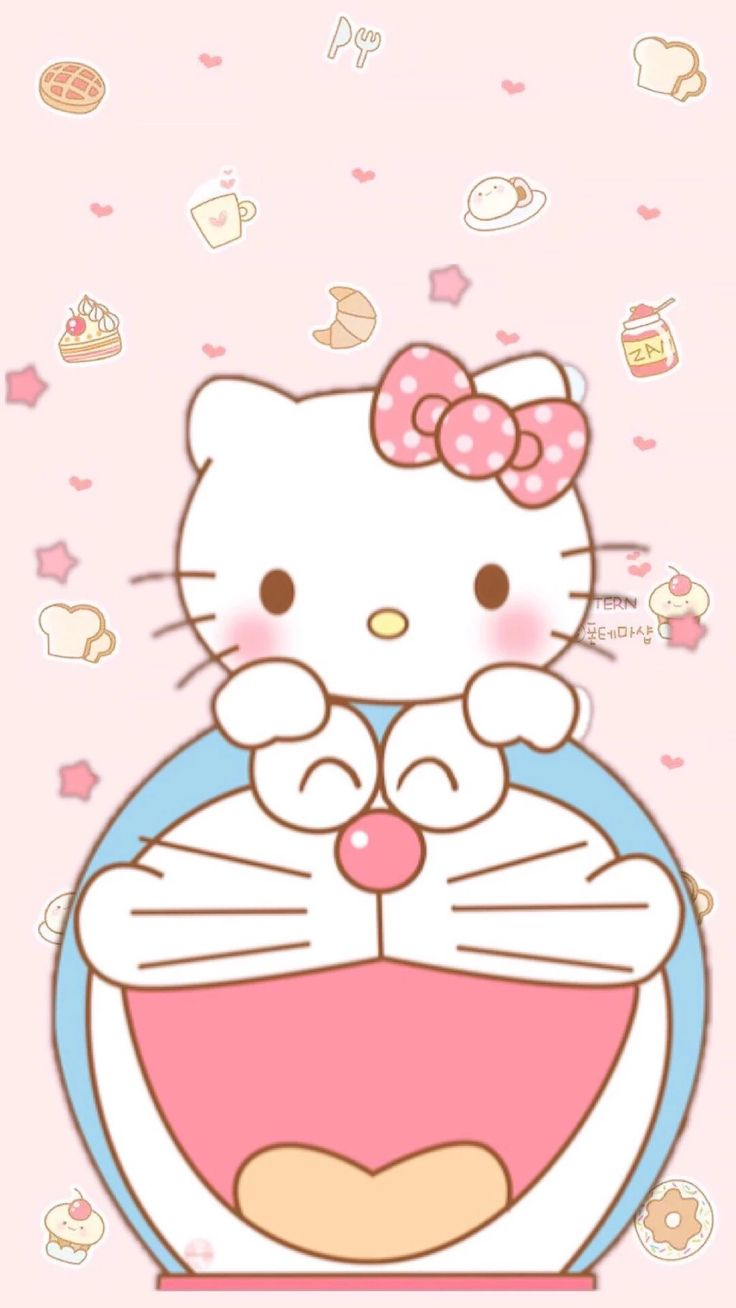 Doraemon and ##❤ hello kitty life##
