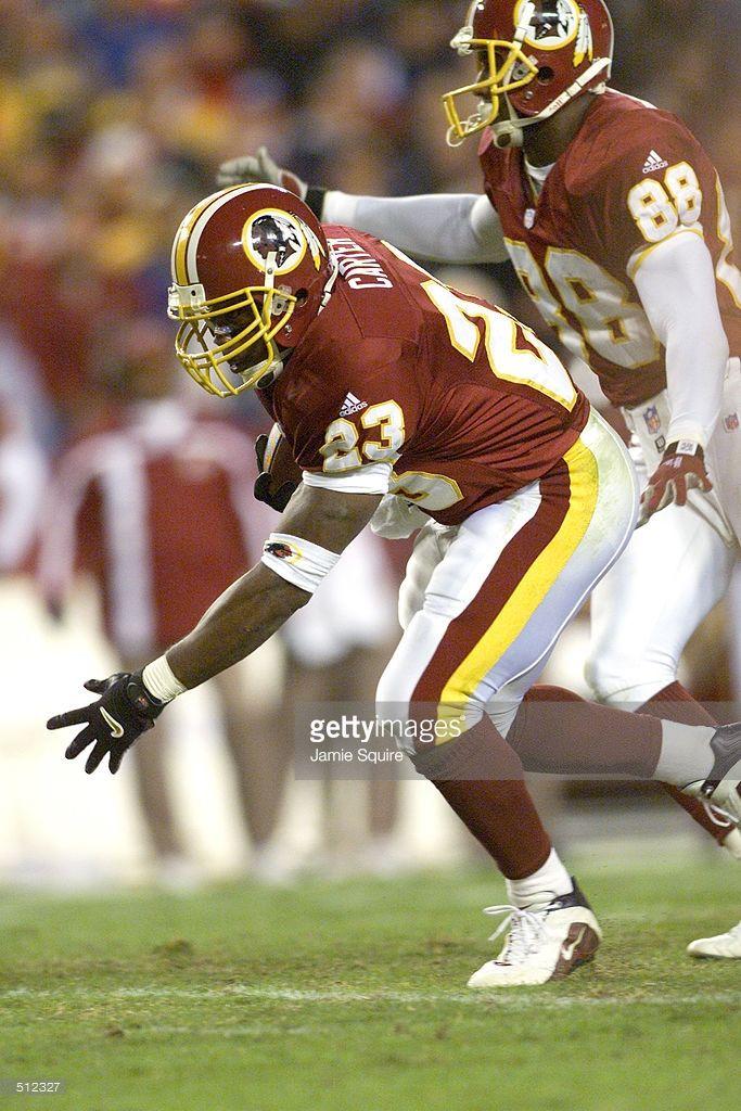 Washington Redskins RB- Ki-Jana Carter (2001)