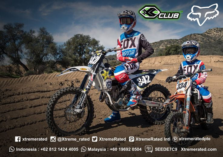 FOX RACING Moto Collection Available in all XCLUB leading stores  #xtremerated #xclub #foxracing #motocross
