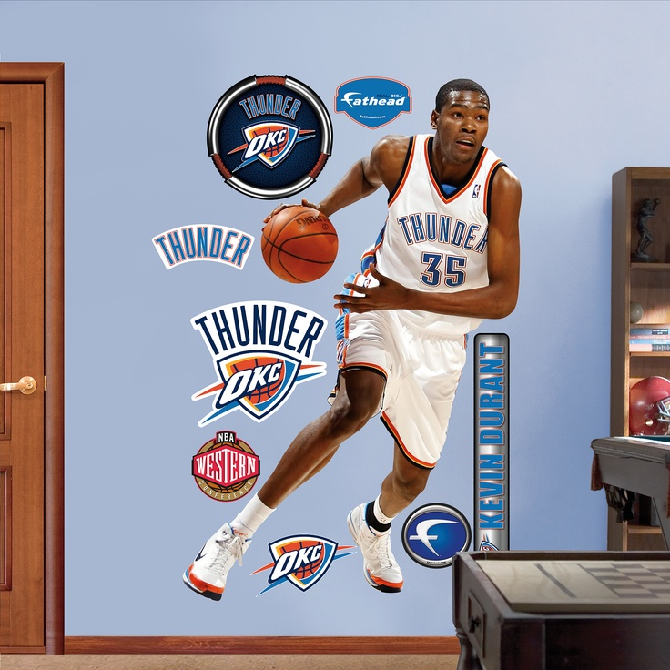 Shop NBA Oklahoma City Thunder At Fathead