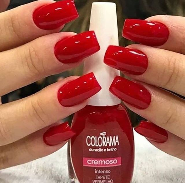 Red Rednails Nails With Images Nail Polish Manicure Red Nails