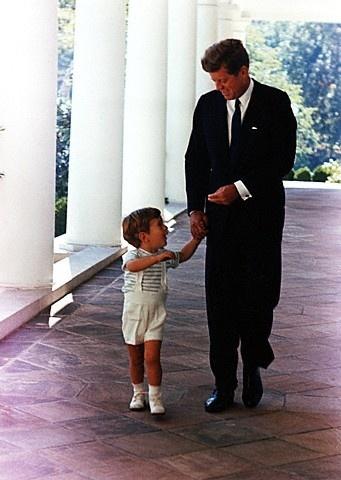 JFK and JFK Jr