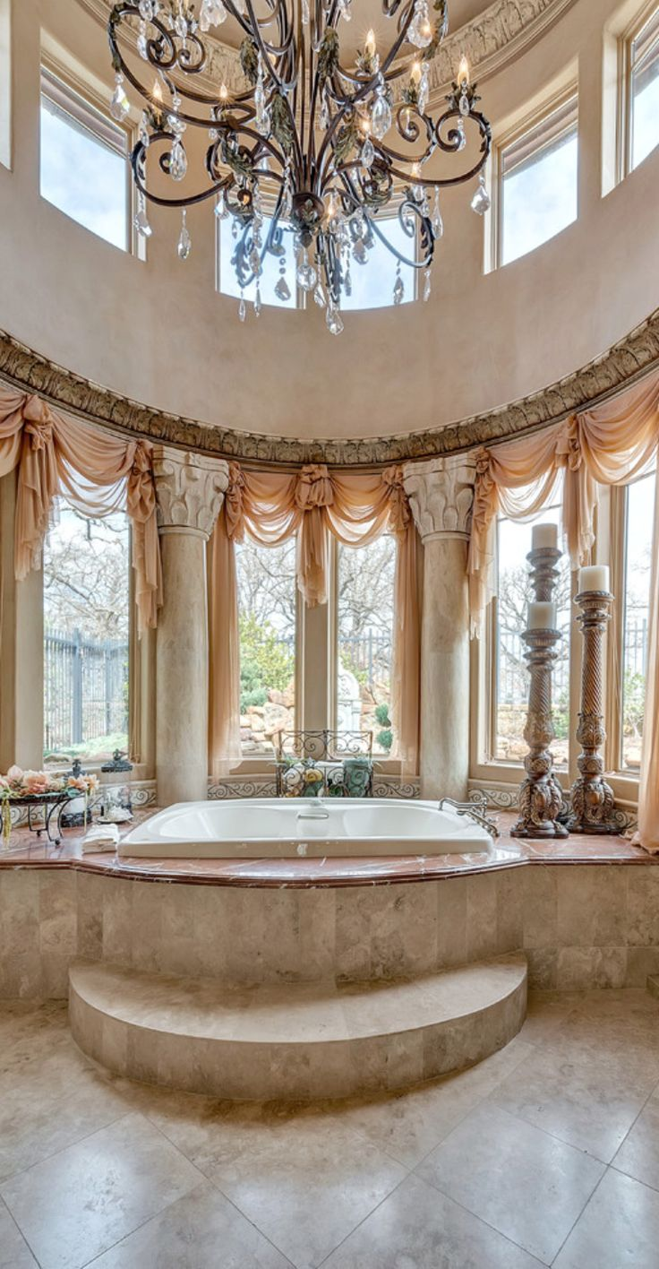 Best bathroom designs in the world - Find This Pin And More On Interior Design Old World Traditional Tuscan Bathrooms And Powder Rooms