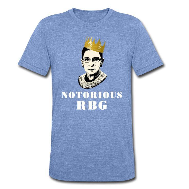 Unisex Notorious RBG shirt - Unisex Tri-Blend T-Shirt