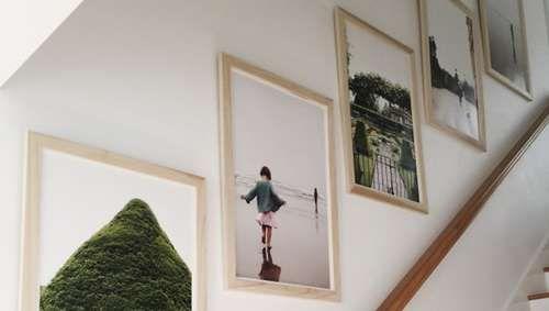 Mur de cadre photos