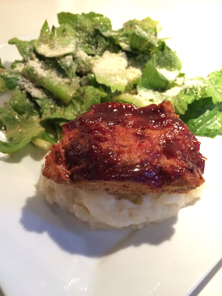 Healthy Turkey Meatloaf Yummy! Portions! Freezable!