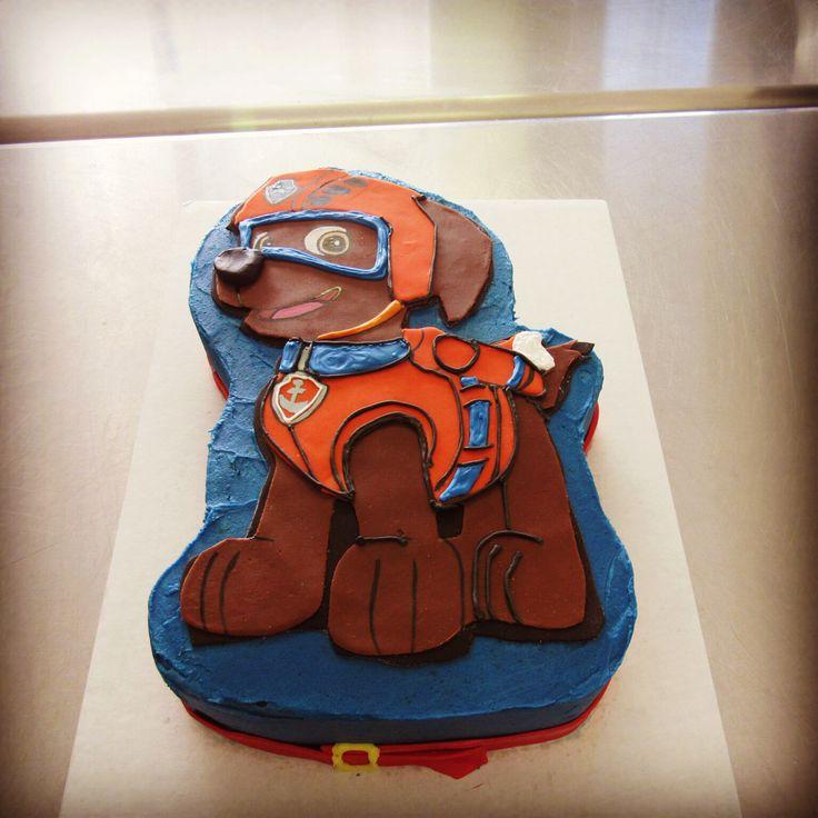 Zuma Paw Patrol Cake