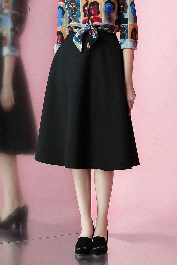 Best 25+ Tea length skirt ideas on Pinterest