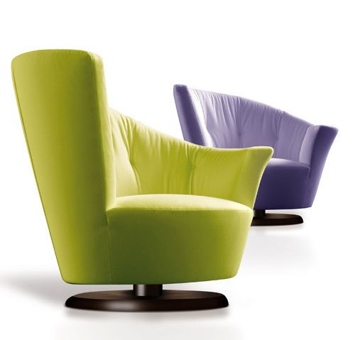 Arabella Chair, Cute And Fashionable Swivel Chair From Giorgetti USA
