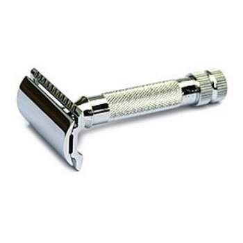 #Merkur #HD 34C #Safety #Razor #Chrome #wetshaving #shaving  www.traditionalshaving.co.uk
