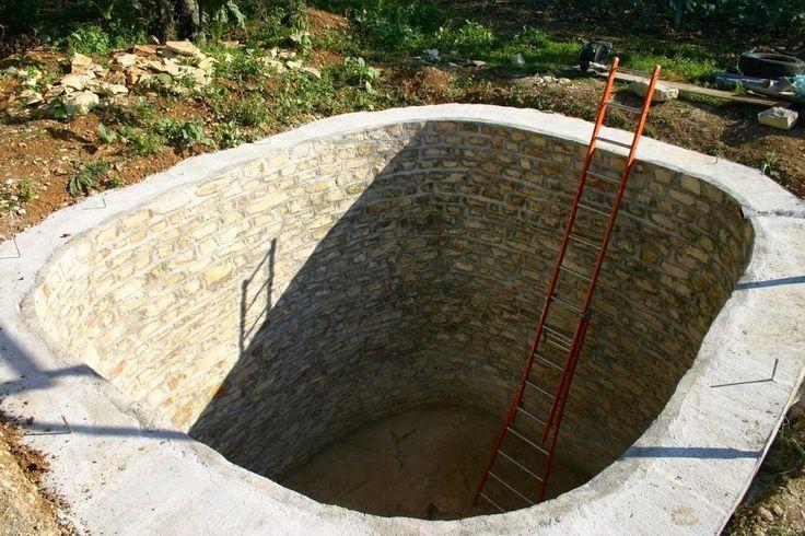 Réaliser une citerne de récupération d'eau soi même